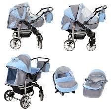 poussette si e auto baby sportive landau pour bébé avec roues pivotables siège auto