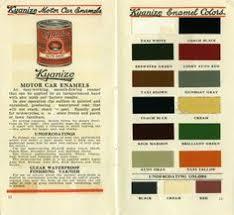 retro 1950s paint samples interior exterior bps super glosfast 14
