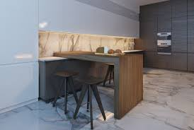 kitchen creative one legged breakfast counter breakfast bar