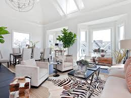 Animal Print Dining Room Chairs White Furniture Trunk Sofa Coffee Table Dark Stained Wood Asian