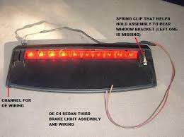 third brake light assembly quattroworld com forums urs4 urs6 s2 rs2