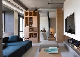 olga akulova installs monolithic fireplace within kiev penthouse