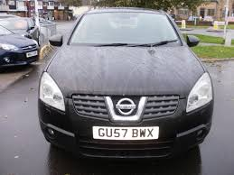 nissan qashqai 2007 used 2007 nissan qashqai tekna dci 4wd 5dr for sale in lancing