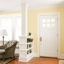 Bookshelf Room Divider Ideas Really Cool Built In Shelf Idea To Separate My Hallway From The
