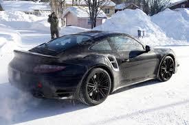 porsche 911 winter porsche 911 turbo winter
