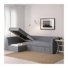 canapé angle lit holmsund canapé lit d angle nordvalla gris moyen ikea