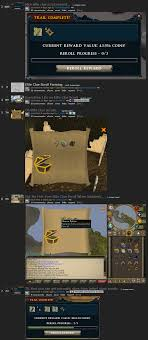i didn t get a barrows dye from this elite clue yet it said i did