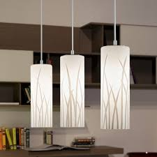 Led Pendant Lights Kitchen by Lighting Ideas Eglo Multi Drop Glass Pendant Lamp With Led Light