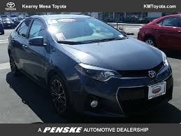 toyota corolla 2016 used toyota corolla s plus at kearny mesa toyota serving