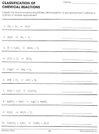 answers to balancing equations worksheet