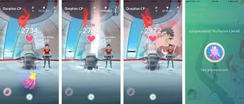 pokémon go gyms how to defend attack earn coins get stardust