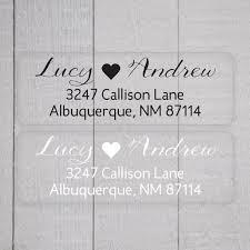 wedding invitations return address floral wreath rustic return address label personalized custom
