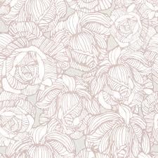 Contemporary Wallpaper Beacon House Calista Taupe Modern Rose Wallpaper Sample 450