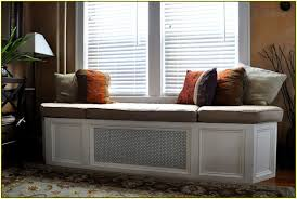 Custom Window Seat Cushions Bay Window Bench Find This Pin And More On Kitchen Window Seat