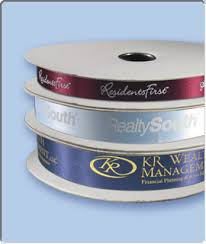 printed ribbon 100 yard custom printed ribbon rolls blanch