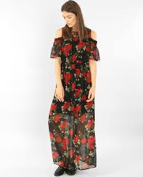 robe en dessous des genoux robe longue pimkie
