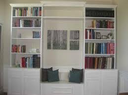 Bookshelf Seat Furniture U0026 Accessories How To Build U201cbuilt In U201d Bookshelves How