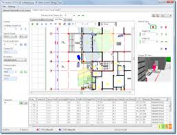 Cad Floor Plans by Easy Cad Software For Cctv