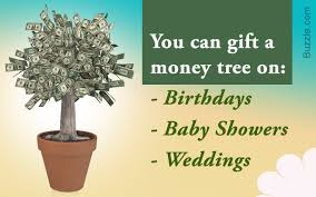 ideas for and gifting money trees for different occasions