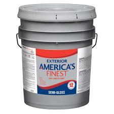 glidden premium 5 gal semi gloss latex exterior paint gl6811 05
