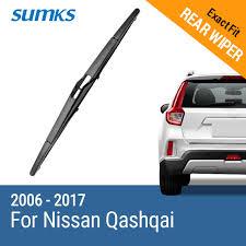 hyundai tucson rear wiper blade aliexpress com buy sumks rear wiper blade for nissan qashqai
