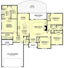 Impressive 4 Bedroom House Plans Impressive Ideas 9 Ranch Style Floor Plans 17 Best Ideas About On