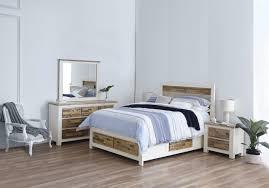 Bedroom Furniture Manufacturers Queensland Hardwood Bed In White Finish