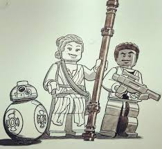 tomrogerscomics inktober2017 day 8 u2013 lego star wars peeps