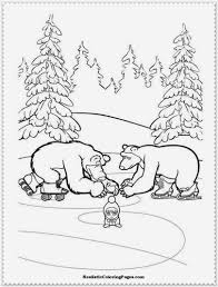 masha and the bear coloring pages realistic coloring pages