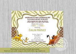 lion king baby shower invitations lion king simba baby shower invitations simba lion king baby