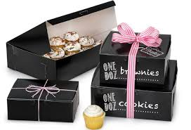 personalized pie boxes new 100 recycled black bakery boxes are a classic green