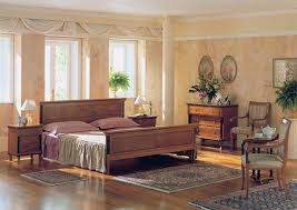 bedroom rustic and colonial style bedroom design as alternative