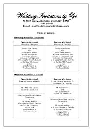 wedding invitation wording etiquette invitations templates