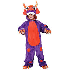 Halloween Monster Costumes by Child Purple Mini Monster Costume Halloween Kids Boys Girls Fancy