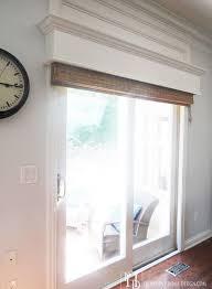 great window treatments for sliding patio doors window treatments