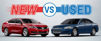 new used cars new car vs used car vic canever chevrolet fenton mi