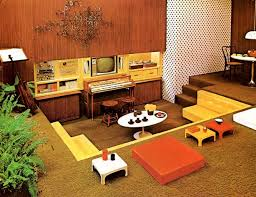70s decor living room grooving conversation pits from back modern new 2017