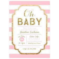 pink and gold baby shower pink and gold baby shower invitations mounttaishan info