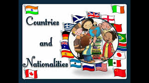 countries and nationalities with sound english language youtube