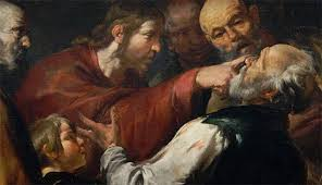 Christ Healing The Blind Jesus Used A Roman Rx For Blindness