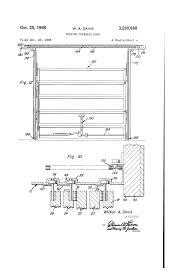 Taylor Overhead Door by Patent Us3280888 Folding Overhead Door Google Patents