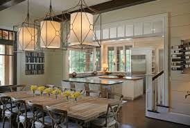 Dining Room Pendant Lighting Statement Lighting For The White Dining Room Furnishmyway Blog