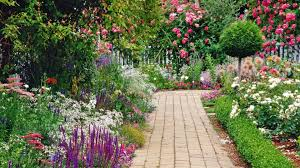 Backyard Walking Paths Garden Design Garden Design With Different Types Of Garden With