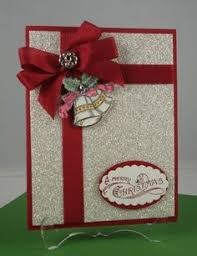 make a christmas card all wrapped up in a pretty package christmas cards cards and