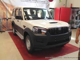 mahindra jeep price list new mahindra scorpio price of s4 s6 with airbag abs ebd