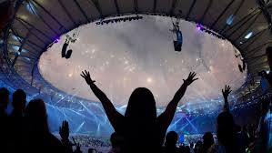 How Many Stars In Brazil Flag Closing Ceremony For The 2016 Summer Olympics Rio Dances The