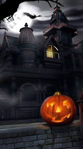 halloween castle background halloween iphone backgrounds pixelstalk net