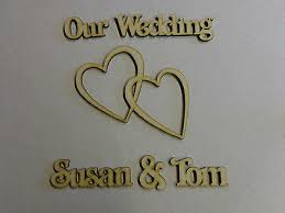 Photo Album Guest Book Personalised Wooden Wedding Guest Book Photo Album Embellishment Mdf