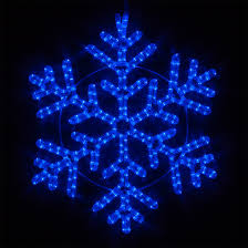 snowflakes 24 led 42 point snowflake blue lights