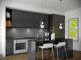 l shaped kitchen layout ideas gray metal bar stool wooden
